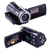"PowerLead Puto PLD003 Mini DV C8 16MP High Definition Digital Video Camcorder DVR 2.7"" TFT LCD 16x Zoom Hd Video Recorder Camera 1280 x 720p Digital Video Camcorder(Black)"