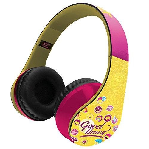 Soy Luna - Casco estéreo con Bluetooth (Lexibook BTHP400SL)