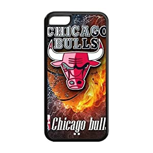 Custom Chicago Bulls Cover Case for iPhone 5C IP-25464