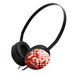 Creative HQ-1450 Headphones (Red)