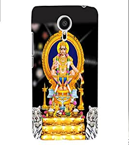 ColourCraft Lord Ayyappa Back Case Cover for MEIZU MX5