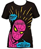 Juniors' Marvel Comics Spider-man Hold It Tunic T-shirt