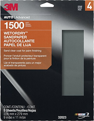 3M 32023 Imperial Wetordry 9″ x 11″ 1500 Grit Sheet