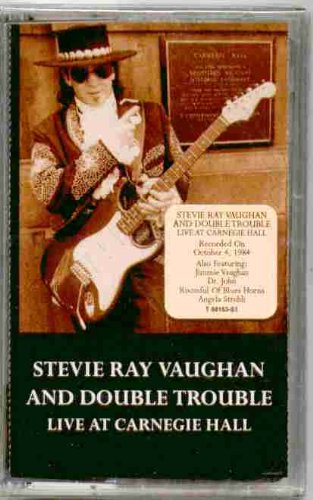 Stevie Ray Vaughan and Double Trouble ~ Live At Carnegie Hall (Original 1997 Sony Music 68163 CASSETTE Tape NEW Factory... by Stevie Ray Vaughan