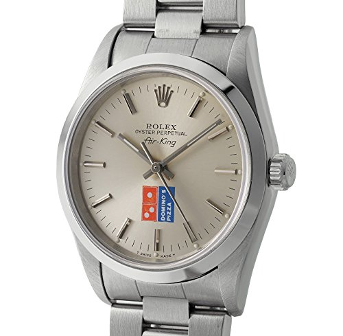 Rolex Air-King swiss-automatic silver unisex-adult Watch 14000 (Certified Pre-owned) (Rolex Air King compare prices)
