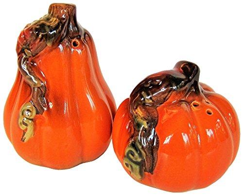 Pumpkin Gourd Salt and Pepper Shaker Set