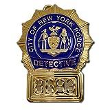 NYPD ニューヨーク市警察 刑事 捜査官 ポリス レプリカバッジ フルサイズ