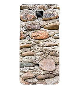 EPICCASE Pebbles and sand Mobile Back Case Cover For OnePlus Three (Designer Case)