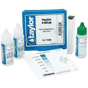 Taylor Technologies Inc K 1106 Test Kit Phosphate Swimming Pool Liquid Test Kits