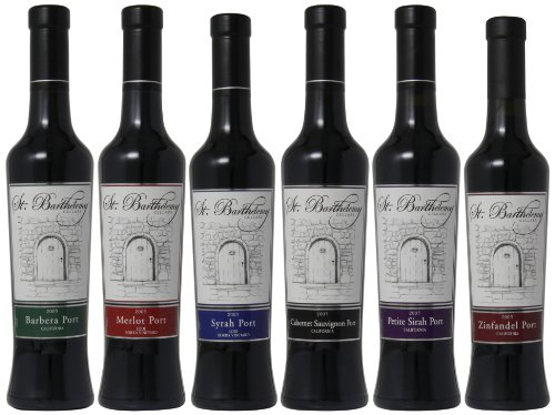 St. Barthelemy Cellars Best Of 2003 Mixed Pack, 6 X 375 Ml