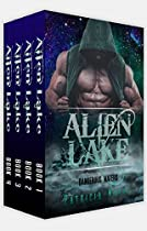 Alien Romance Box Set: Alien Romance: Alien Lake Complete Series (books 1-4): A Scifi (science Fiction) Alien Warrior Abduction Invasion Romance Box Set