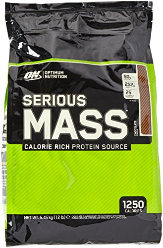 Optimum Nutrition Serious Mass Gainer Chocolate, 1er Pack (1 x 5,455 kg)