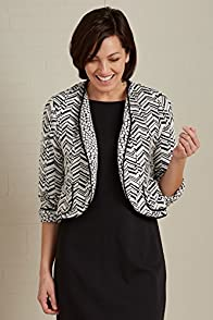 Janska Toni Chevron Cropped USA-made Jacket
