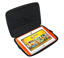 MiTAB Black Hard Protective Case Cover For The Oregon MEEP! Tablet As Sold By Toys R us