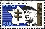 France 3266 (complète.Edition.) neuf avec gomme originale 1997 maréchal leclerc (Timbres pour les collectionneurs)...