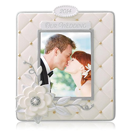 Hallmark 2014 Our Wedding Photo Holder Ornament