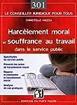 Harc�lement moral et souffrance au tr...