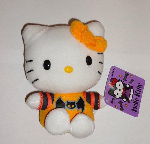 Halloween 2013 Hello Kitty 5 Inch Plush Bat Shirt - 1