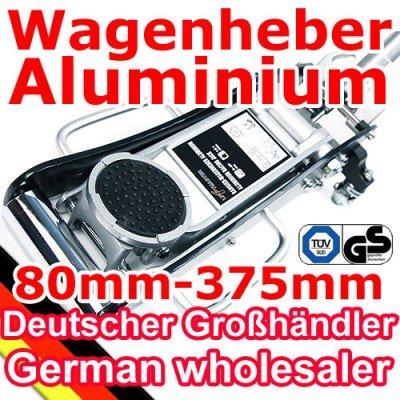 [TT6913G] [schwarz] Aluminium Wagenheber 1,5T