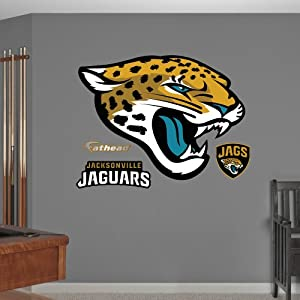 NFL Jacksonville Jaguars Logo Wall Graphics by Fathead