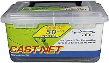 Ahi USA 50 Series Cast Net 4-Feet Nylon