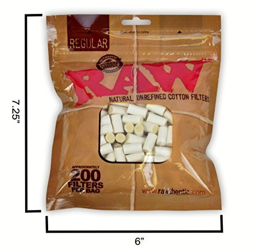 RAW-Natural-Unrefined-Rolling-100-Pure-Cotton-Filters-1-200pc-Bag
