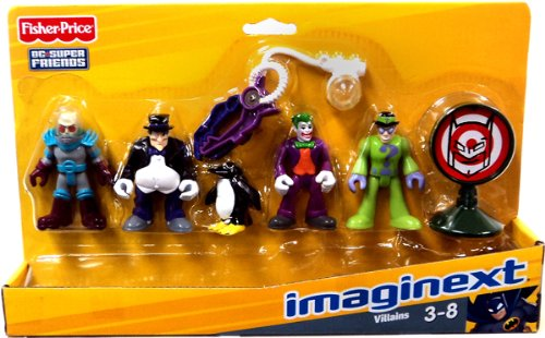 Fisher-Price Imaginext DC Super Friends Set Villains at Sears.com