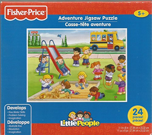 New Fisher Price Little People Puzzle, School Yard Puzzle