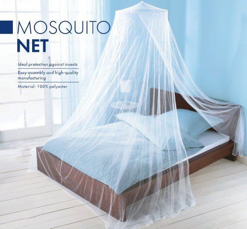 Buy Cheap Elegant Mosquito Net Bed Canopy Set - White