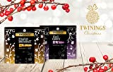 Twinings Christmas Gift Tin Caddy 100s - Earl Grey / English Breakfast -NEXT DAY (Earl Grey & English Breakfast)