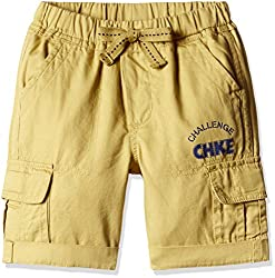 Cherokee Boys' Shorts (267914485_Beige_3 - 4 years)