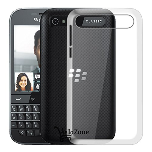 Hello Zone Exclusive Soft Transparent Crystal Clear Back Cover Back Case Cover For BlackBerry Classic Q20  available at amazon for Rs.149