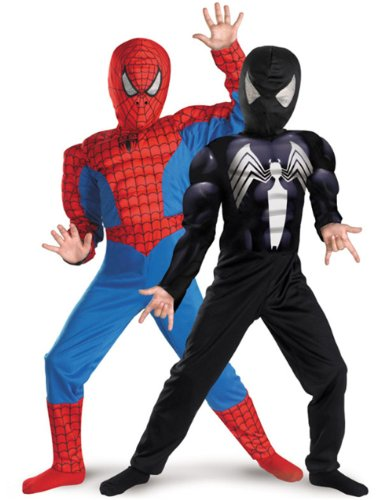 Disguise Marvel Spider-Man Reversible SpiderMan  Costume