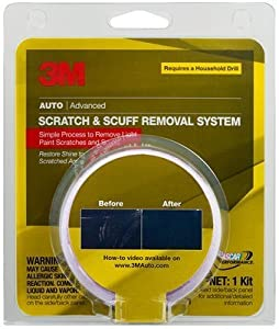 3M Scratch &Scuff Removal System, 39071 guaranteed to remove light paint scratches & scuffs. Improves paint's appearance. Easy to use system. Repairs multiple scratches. Repairs light paint damage from light key scratches, swirl marks, light oxidation. fr
