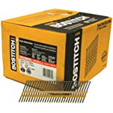BOSTITCH RH-S8D113EP Round Head 2-3/8-Inch x .113-Inch by 21 Degree Plastic Collated Framing Nail (5,000 per Box)