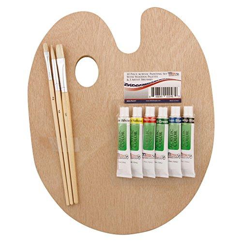 US Art Supply Wood Palette