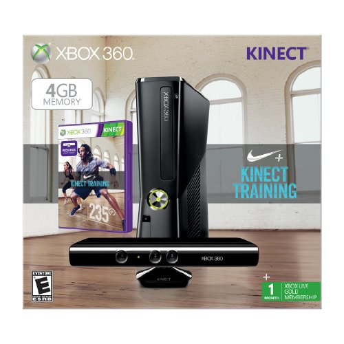 Xbox 360 4gb With Kinect Nike+ Bundle Picture