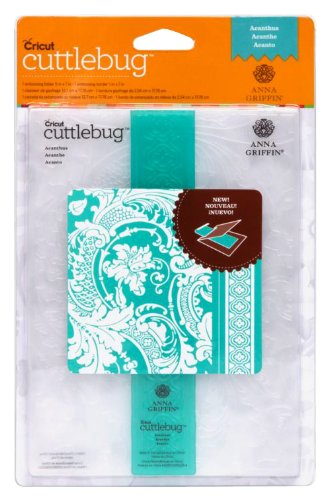 Cuttlebug 2001949 Embossing Folder and Border, Acanthus, 5-Inch by 7-Inch