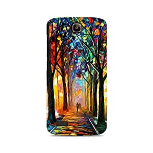 Mobicture Pattern Premium Designer Mobile Back Case Cover For Huawei Honor Holly