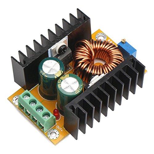 DROK 090063 DC Voltage Converter Regulator 12V/24V 10-32V to - Import It All