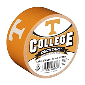 Duck Brand 240089 University of Tennessee College Logo Duct Tape, 1.88-Inch by 10 Yards, Single Roll