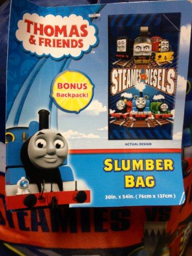 Thomas Slumber Bag Nap Mat With Bonus Sling Backpack New