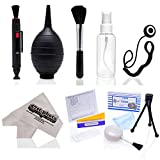 12 in 1 Opteka Photo Lens Cleaning Kit for All Digital SLR Cameras