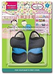 Baby Dreams Baby Booties-Shoe (Denim)