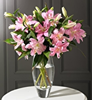 Autograph™ Double Lilies Bouquet
