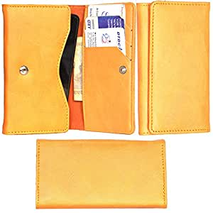 R&A Pu Leather High Quality Wallet Pouch Case Cover With Card Slot & Note Slots,Soft Inner Velvet For LG L Bello