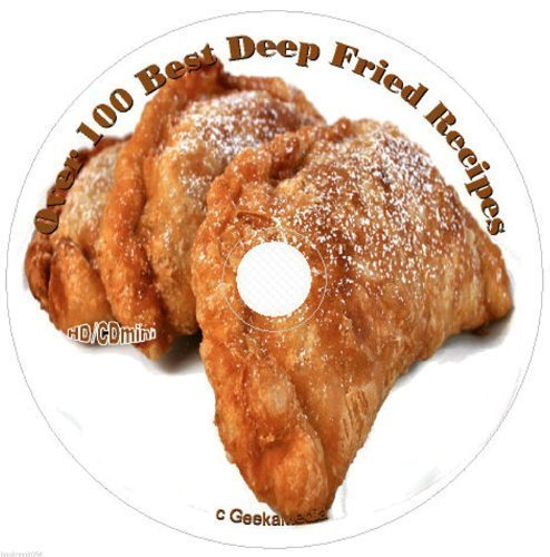 Deep Fryer Recipes on CD turkey ice cream candy bars meat pies pickles more easy