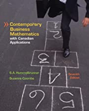 Contemporary Business Mathematics with Canadian Applications by Seig Hummelbrunner