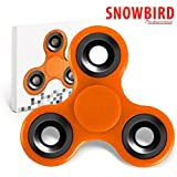 SNOWBIRD FIDGET SPINNER STRESS BUSTER TOY, ORANGE