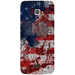 Casotec Painting American Design 3D Prited Hard Back Case Cover for InFocus M350